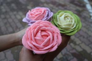kem hoa hồng Goofoo Gelato