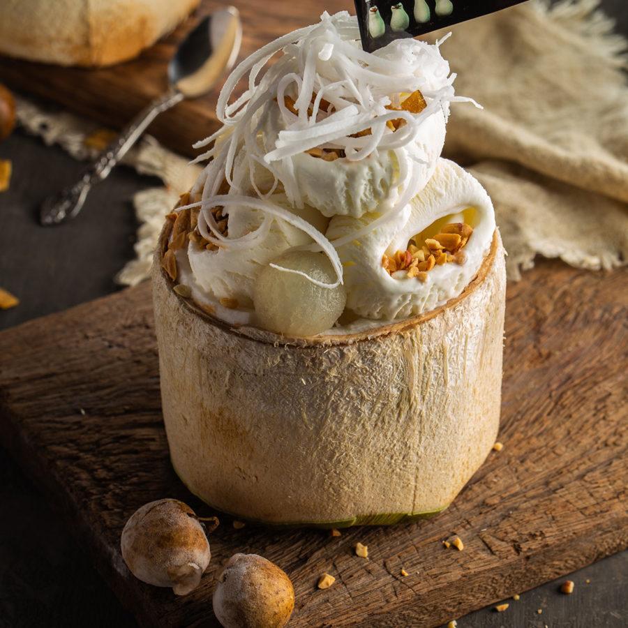 Top 3 quán kem dừa ngon nhất Hà nội