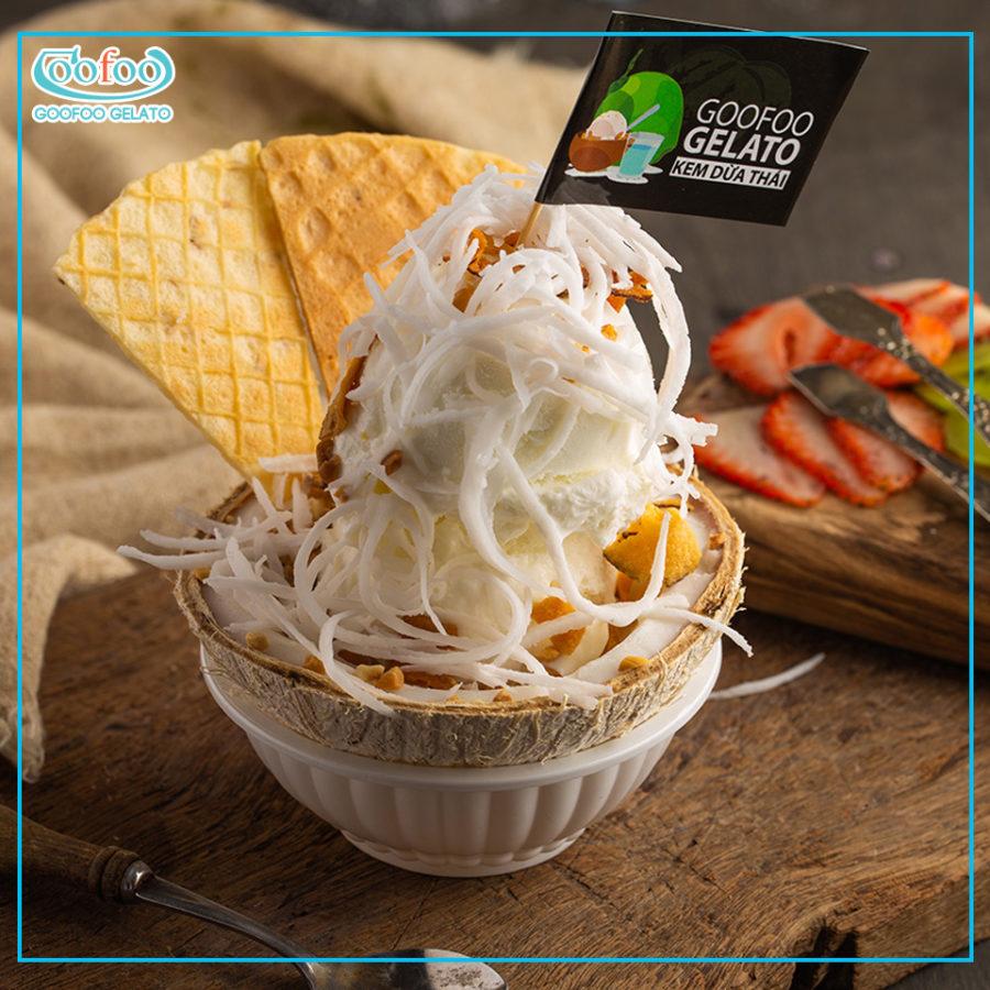 5 quán kem dừa ngon nhất Sài gòn