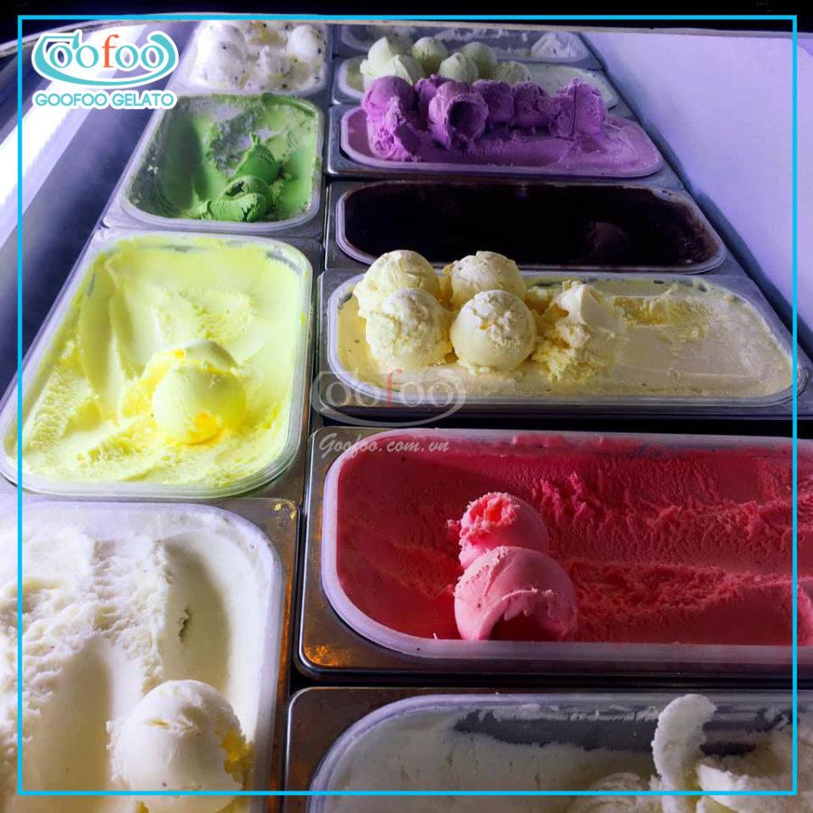 Tìm hiểu về kem Gelato đỉnh cao của công nghệ làm kem
